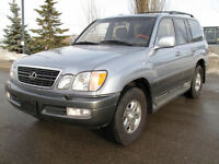 2001 Lexus LX 470 SUV - Immaculate condition