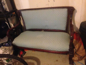 Great antique couch for DIY's