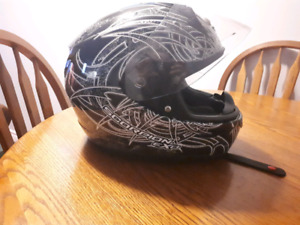Ladies Scorpion motorcycle or ATV helmet