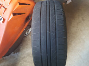 Four all season 195 / 60 r15 tires and rims for sale.