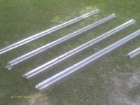 NEW, GALVANIZED STEEL SHED FLOOR FRAMING