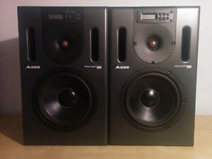 moniteurs Alesis Prolinear 820 DSP studio monitors - Nego