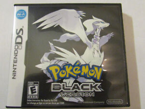 pokemon black (case and booklet only)
