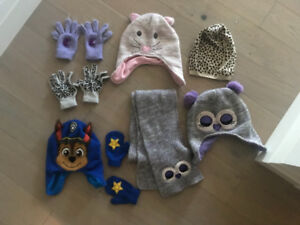 Kids cold weather accessories - STOCKING STUFFERS $10 for all !