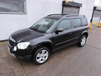 63 Skoda Yeti 1.2 TSI DSG Auto SE Damaged Salvage Repairable Cat D