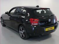2015 BMW 1 Series 116i Sport 5dr Petrol black Manual