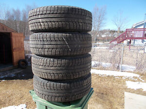 p225/70/16 inch Michelin X Ice Tires / Rims / LOTS OF TREAD