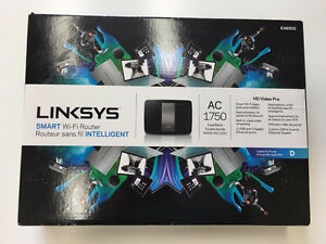 LINKSYS Smart Wi-Fi Router: AC1750 EA6500 - Lightly Used