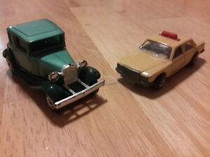lot 3 voitures Matchbox vintage 80's années 80 diecast