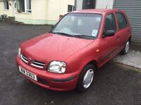 98 Nissan micra 1.0 petrol ***only 62k miles***