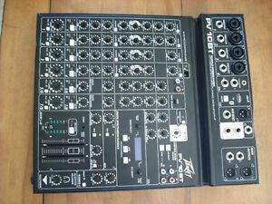 PV-10 BT Mixer,4 mic In,Bluetooth/USB,Compressor/Effects