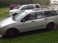 2005 ford focus wagon good solid little car