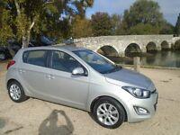Hyundai I20 1.2 Style 5dr 12 plate (aluminium/silver) 2012