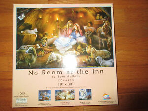 No Room at the Inn - 1000 Piece Christmas Puzzle.