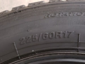 4 brand new winter tires tires and rims size 225 / 60 / 17.