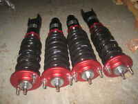 96 00 HONDA CIVIC EK9 B16B DOHC VTEC TYPE R COILOVERS SHOCKS