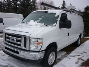 2012 Ford E-350 Cargo Van ROOF RACK/ PARTITION