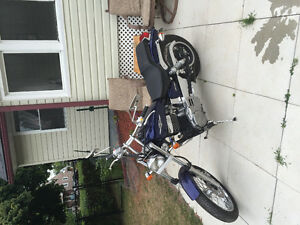 2007 Suzuki Boulevard s40 beautiful bike