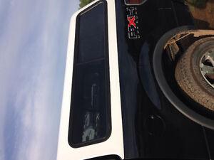 White truck cap