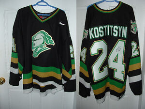 Sergei Kostitsyn Autographed London Knights Jersey