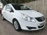 2009 59 Vauxhall Corsa van 1.3 CDTi 16v ecoflex 5 speed 74.3 mpg p/x