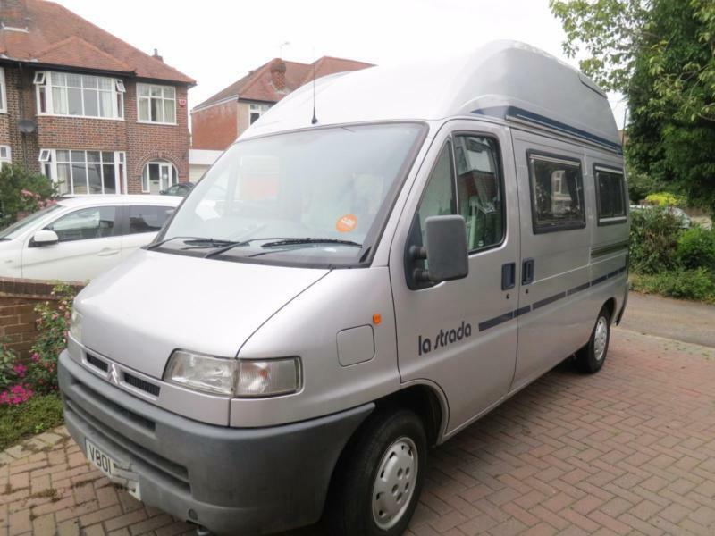 752204b354e809 La Strada Baumgarten 2 Berth Campervan For Sale
