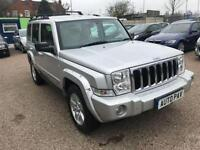 2007 56 JEEP COMMANDER 3.0 V6 CRD LIMITED 5D AUTO 215 BHP DIESEL