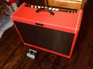 Trade/Swap Fender Hot Rod Deluxe III Red October LTD Amp.