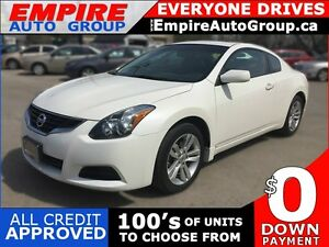 2010 NISSAN ALTIMA 2.5 S * LEATHER * SUNROOF * POWER GROUP