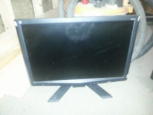 Acer monitors, x183h (18 inch) and x203w (20 inch)