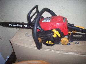 Homelite 18 inch 42cc chainsaw GREAT SHAPE!!!