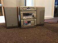 Radip CD cassette player