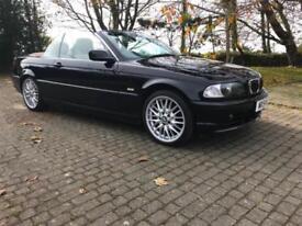 BMW 325 2.5i 2001 51 SE Convertible Beautiful Car Throughout!