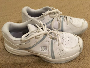 Wilson Court Shoes - Size 5.5