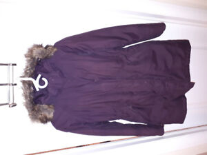 For sale: Women's North Face down-filled parka, size medium
