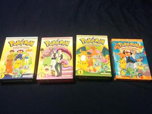 Pokemon series dvd season 1+2