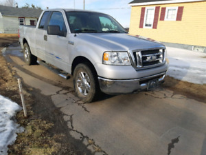 2007 ford f150 4x4 extended cab with 144 km