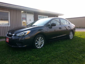 2012 Subaru Impreza AUTO AIR AWD CERT Sedan