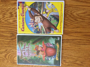 Curious George and Thumbelina DVD's