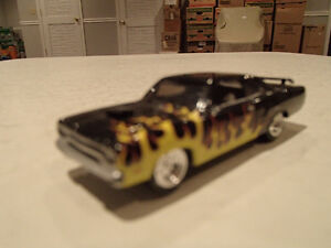 Loose Black w/Flames 1970 '70 PLYMOUTH GTX 440/375 Motor JOHNNY Sarnia Sarnia Area image 8