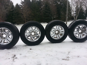 P275-65-18 LT Michelin  tires on ford rims