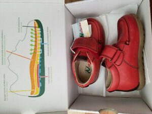 Brand new with tags and in box Naturino toddler boy shoes