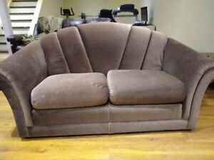 Small couch that is clean and in good shape...smoke free home