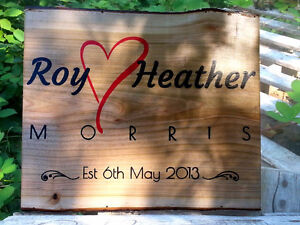 Valentine's Plaque - order now for the big day!
