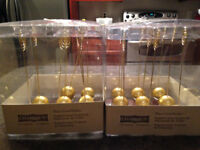 For Sale- Gold Place card holders