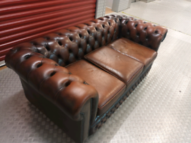 VINTAGE CHESTERFIELD SOFA LOCAL DELIVERY AVAILABLE