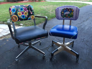 Funky Vintage Office Chairs