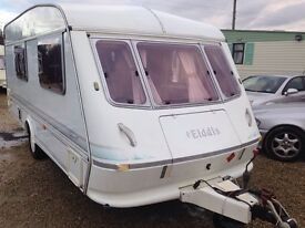 Elddis typhoon gt 4 berth 1994 carvan