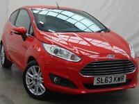 2014 Ford Fiesta ZETEC Petrol red Manual