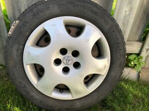 "Set of Rims 15"" - Used on Toyota  Corolla"